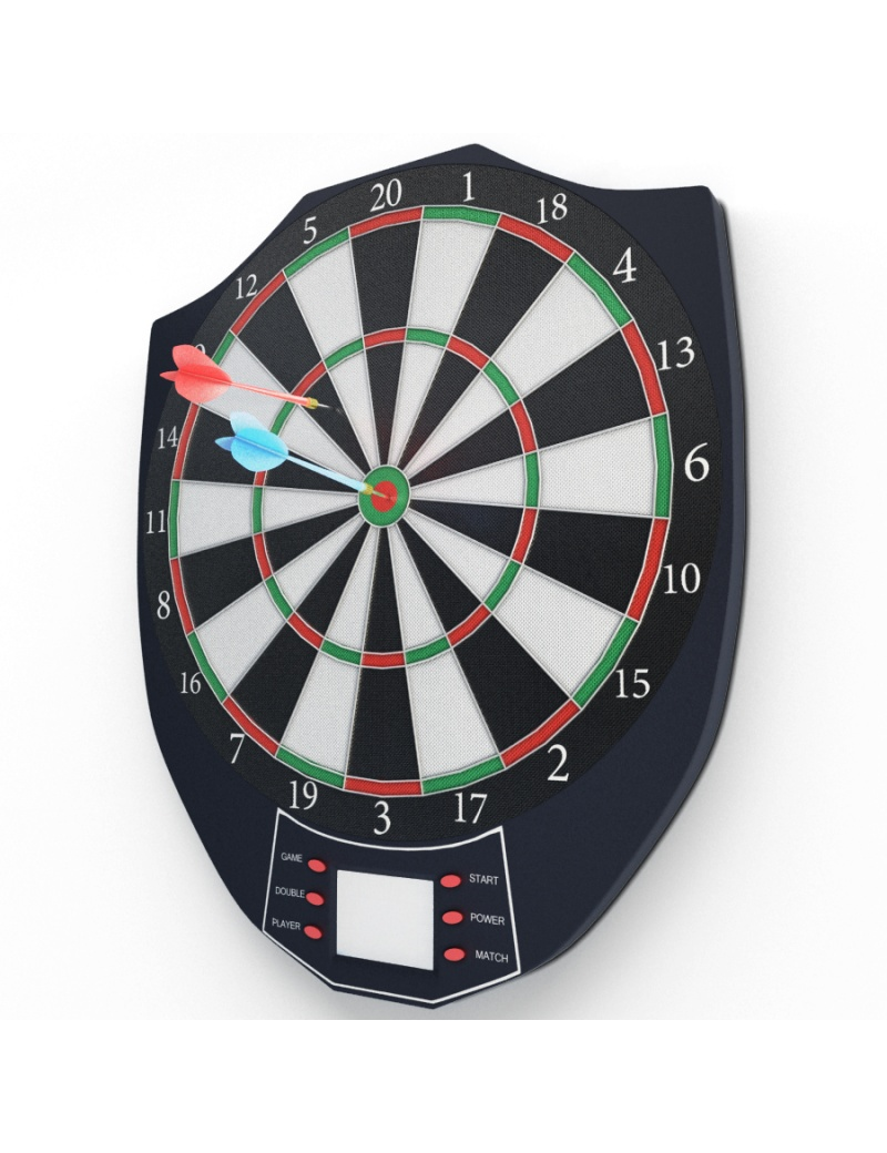 electronic-darts-game-3d-model