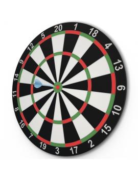 darts-game-3d-model