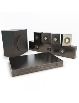 home-cinema-modele-3d