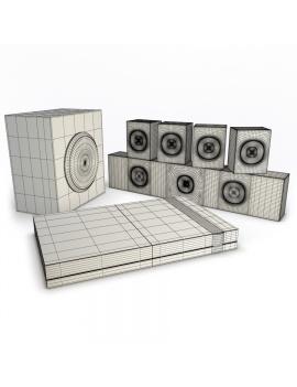 home-cinema-3d-model-wireframe