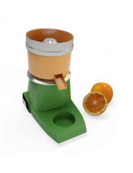 professionnal-juicer-santos-3d-model