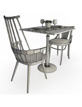 set-de-mobilier-de-restaurant-en-3d-vol-01-modeles-3d-compo-table-bois-use-filaire