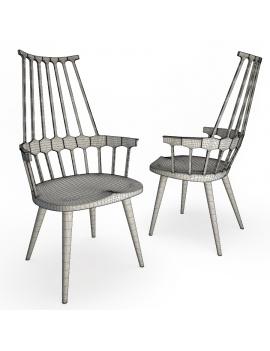 set-de-mobilier-de-restaurant-en-3d-vol-01-modeles-3d-chaise-comback-filaire