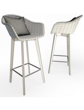 set-de-mobilier-de-restaurant-en-3d-vol-02-modeles-3d-tabouret-edgar-filaire
