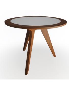 set-de-mobilier-de-restaurant-en-3d-vol-02-modeles-3d-table-ronde-bois-metal