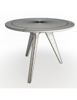 set-de-mobilier-de-restaurant-en-3d-vol-02-modeles-3d-table-ronde-bois-metal-filaire