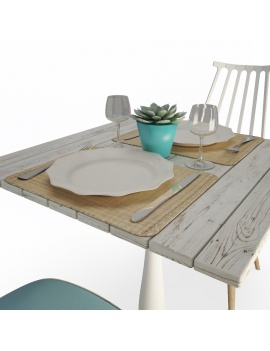 used-wood-table-and-chairs-set-3d-models-03
