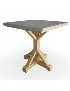 table-en-bois-celaya-modele-3d