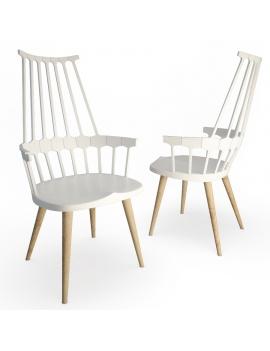 chaise-contemporaine-comback-modele-3d