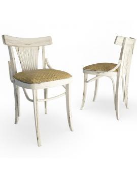 chaise-en-bois-dalia-modele-3d