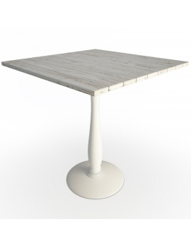 used-wood-table-3d-model