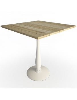 table-en-lattes-de-bois-naturelles-usees-modele-3d