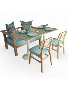 set-de-canape-en-bois-inout-et-chaises-vicky-modele-3d