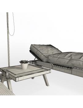 wooden-sunbeds-set-3d-models-02-wireframe