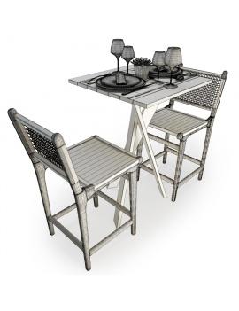 set-de-mobilier-de-restaurant-en-3d-vol-03-modeles-3d-composition-table-haute-1-filaire