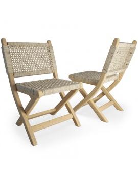 set-de-mobilier-de-restaurant-en-3d-vol-03-modeles-3d-chaise-pliable-tressée