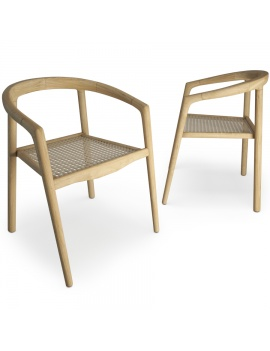 set-de-mobilier-de-restaurant-en-3d-vol-03-modeles-3d-chaise-teck