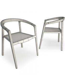 set-de-mobilier-de-restaurant-en-3d-vol-03-modeles-3d-chaise-teck-filaire