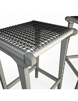 set-de-mobilier-de-restaurant-en-3d-vol-03-modeles-3d-tabouret-teck-tressé-2-02-filaire