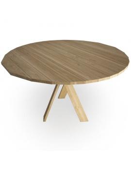 set-de-mobilier-de-restaurant-en-3d-vol-03-modeles-3d-table-ronde-teck