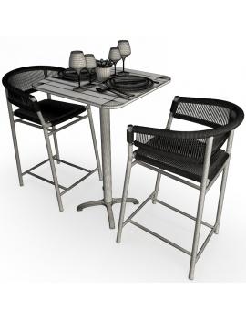 set-de-mobilier-de-restaurant-en-3d-vol-04-modeles-3d-composition-mange-debout-tabouret-kith-ethimo-filaire