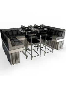 set-de-mobilier-de-restaurant-en-3d-vol-04-modeles-3d-composition-banquette-mange-debout-tabouret-kith-ethimo-01-filaire