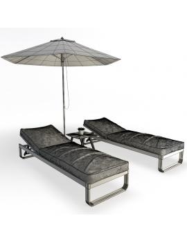 set-de-mobilier-de-restaurant-en-3d-vol-04-modeles-3d-composition-bain-de-soleil-metallique-filaire