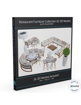 set-de-mobilier-de-restaurant-en-3d-vol-02-modeles-3d