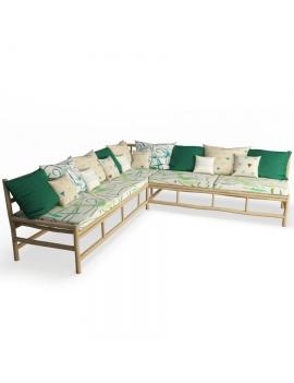 floated-wooden-corner-bench-3d-model