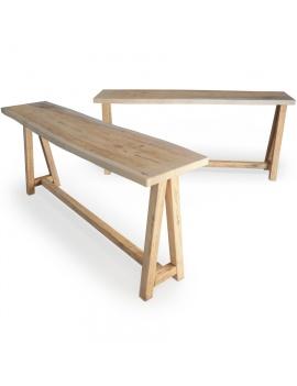 atelier-s-wooden-high-table-3d-model