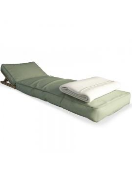 floated-wooden-headrest-sunbed-3d-model