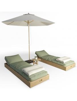 composition-de-bains-de-soleil-en-bois-ateliers-modele-3d
