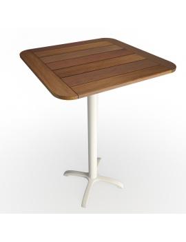 wooden-hightable-and-metallic-legs-3d-model