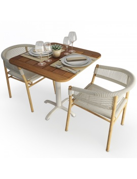 table-and-chair-kith-ethimo-set-3d-model