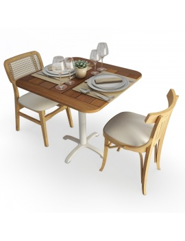 vicky-and-dalia-wooden-table-and-chair-set-3d-model