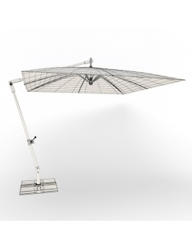 outdoor-wooden-furniture-3d-models-umbrella-camberra-wireframe