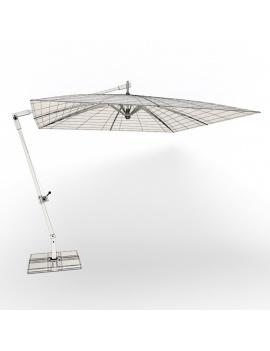 collection-3d-de-mobilier-extérieur-en-bois-parasol-cambarra-filaire