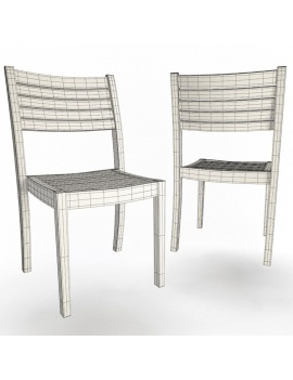 collection-3d-de-mobilier-extérieur-en-bois-chaise-bridget-01-filaire