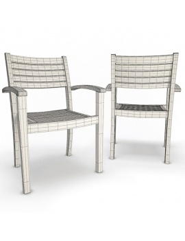 outdoor-wooden-furniture-3d-models-armchair-bridget-wireframe