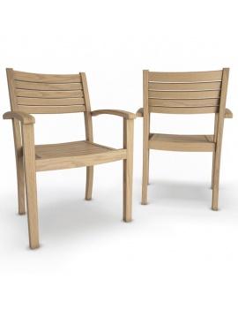 outdoor-wooden-furniture-3d-models-armchair-bridget