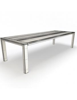 collection-3d-de-mobilier-extérieur-en-bois-table-costes-filaire
