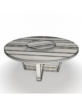 outdoor-wooden-furniture-3d-models-table-costes-round-wireframe