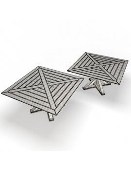 collection-3d-de-mobilier-extérieur-en-bois-table-cronos-02-filaire