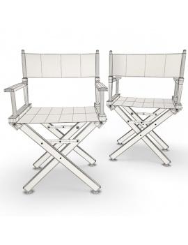 collection-3d-de-mobilier-extérieur-en-bois-fauteuil-ginger-filaire