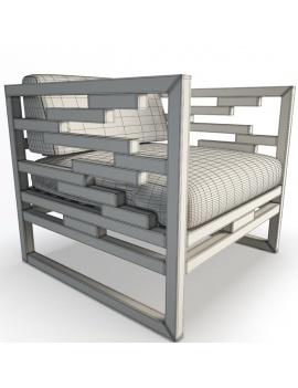 collection-3d-de-mobilier-extérieur-en-bois-fauteuil-kontiki-filaire