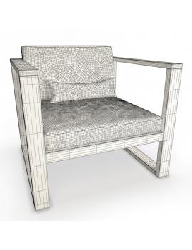 collection-3d-de-mobilier-extérieur-en-bois-fauteuil-siena-filaire