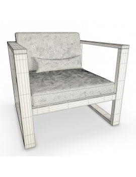 outdoor-wooden-furniture-3d-models-armchair-siena-wireframe