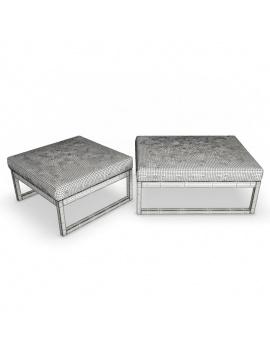 outdoor-wooden-furniture-3d-models-footstool-siena-wireframe