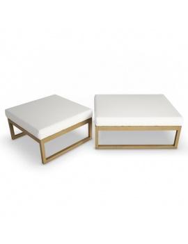 collection-3d-de-mobilier-extérieur-en-bois-pouf-siena