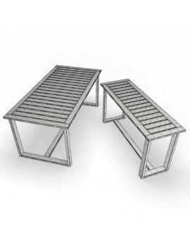 outdoor-wooden-furniture-3d-models-table-siena-rectangular-wireframe